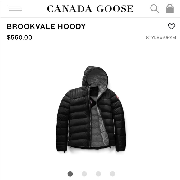 8d0dd936f4f Canada Goose men's Brookvale Hoody. M_5bd4cdc8035cf11b2eb6c1f3